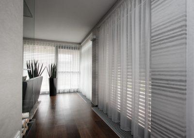 zaclona v luxusnom interiéri